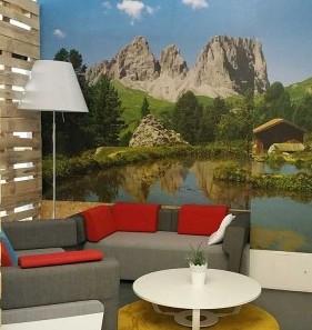 Komfortable Ruhezone in unserem Münchner Büro