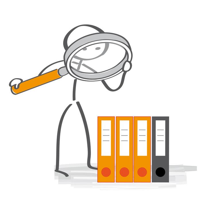 Akten überprüfen - Datenanalyse