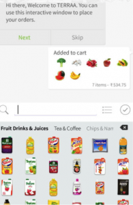 Emojis Shopping App