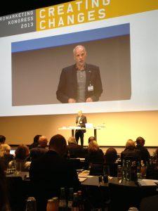 Dr. Hans-Georg Häusel von der Gruppe Nymphenburg auf dem Neuromarketing Kongress 2013