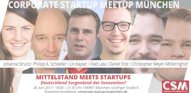 Must Be! Das heutige Corporate Startup Meetup München