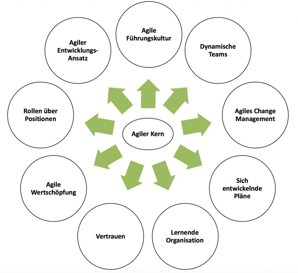Kernelemente des Agilen Managements